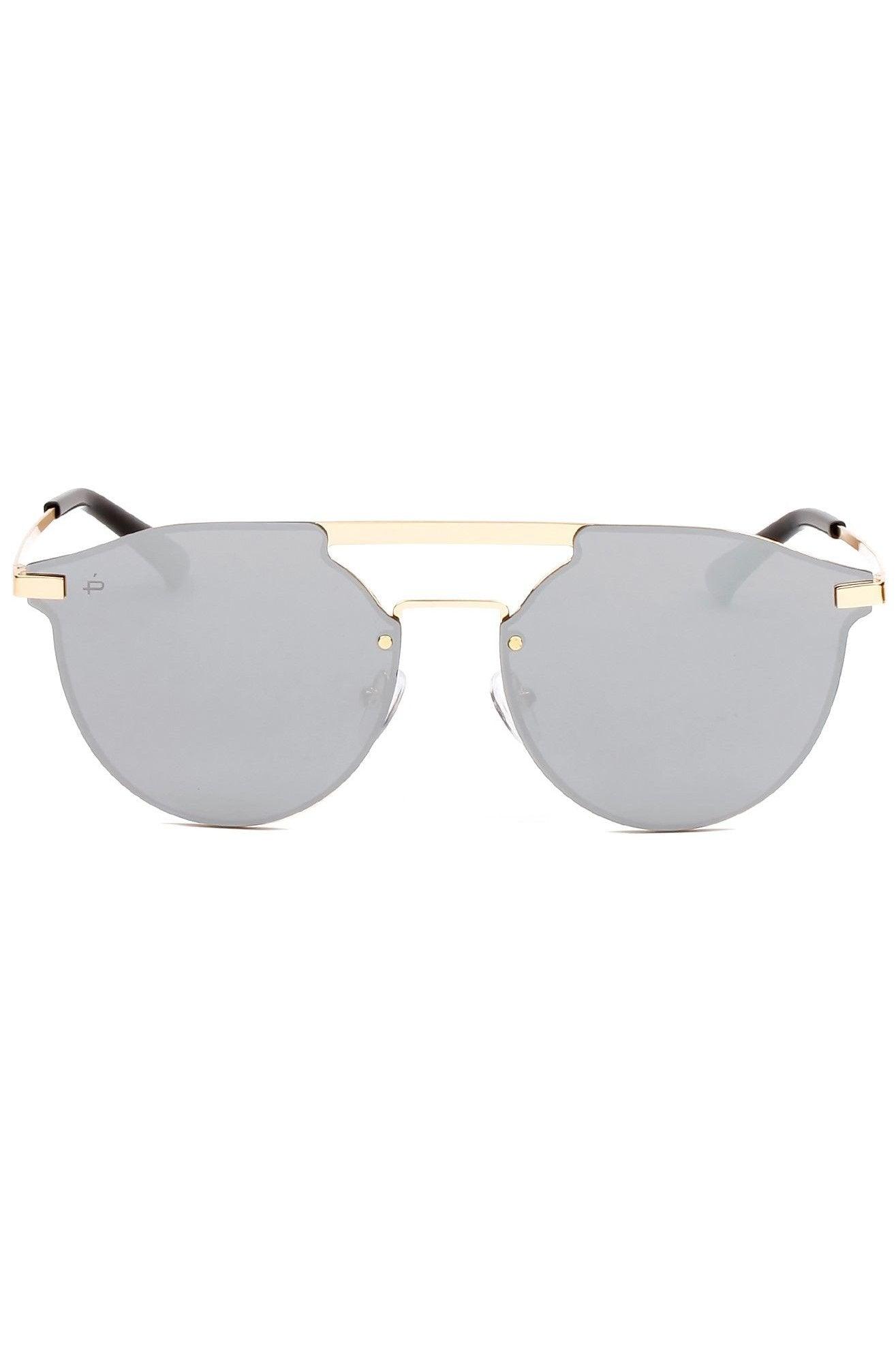 PRIVE REVAUX The Parisian Sunglasses | Silver| Prive Revaux The Pariasian