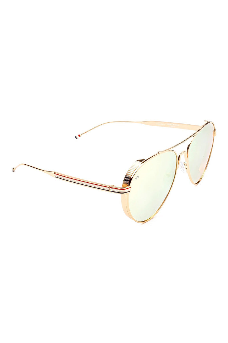 PRIVE REVAUX The G.O.A.T Unisex Polarized Aviator Sunglasses - Yellow Sunglasses | Yellow| Prive Revaux The G.O.A.T