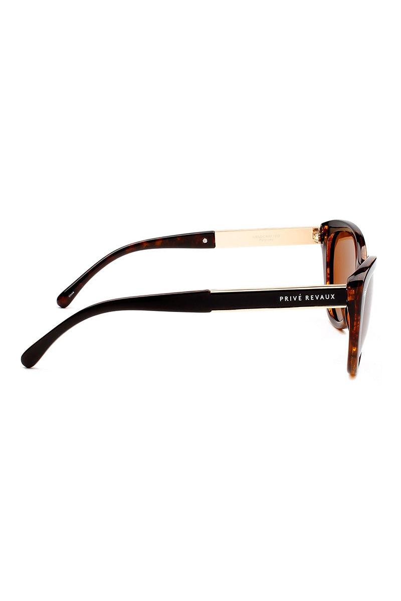 PRIVE REVAUX The Hepburn Sunglasses   Dark Tortoise  Prive Revaux The Hepburn
