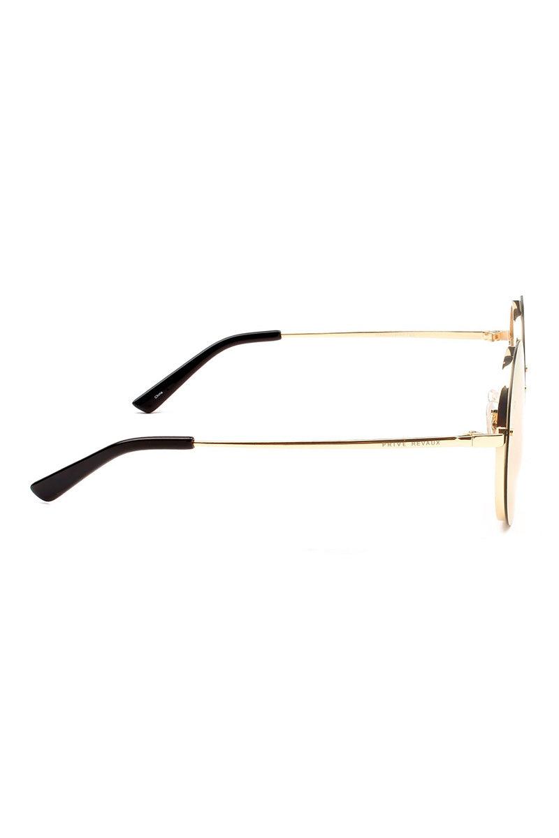 PRIVE REVAUX The Joplin Unisex Round Sunglasses - Rose Gold Sunglasses | Rose Gold| Prive Revaux The Joplin