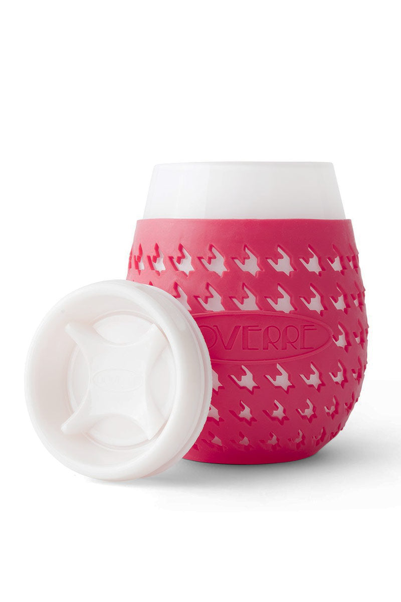 """GOVERRE Wine Glass Sippy Cup - Wine Accessories 