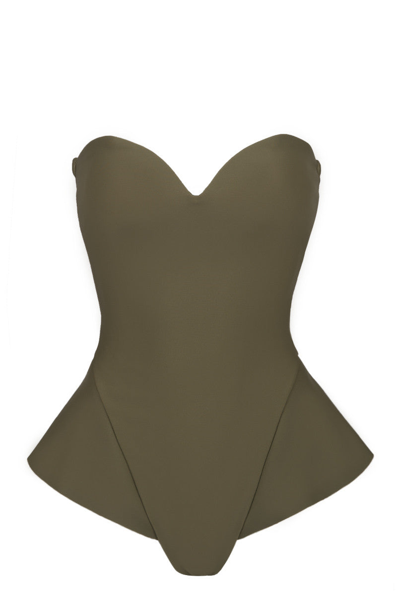 ZIGILANE Boy Scout One Piece One Piece | Olive Green|