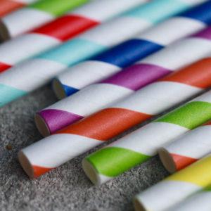 Cannucce di carta compostabili