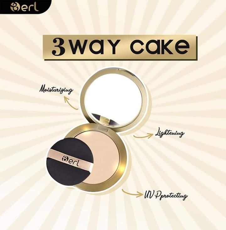Bedak B Erl Three Way Cake