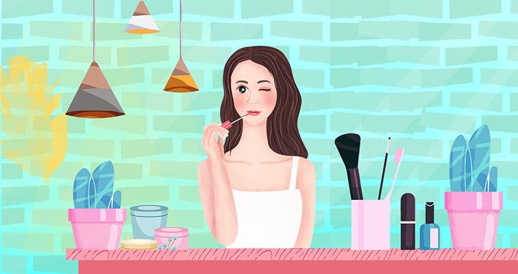 Bahaya sering memakai make up