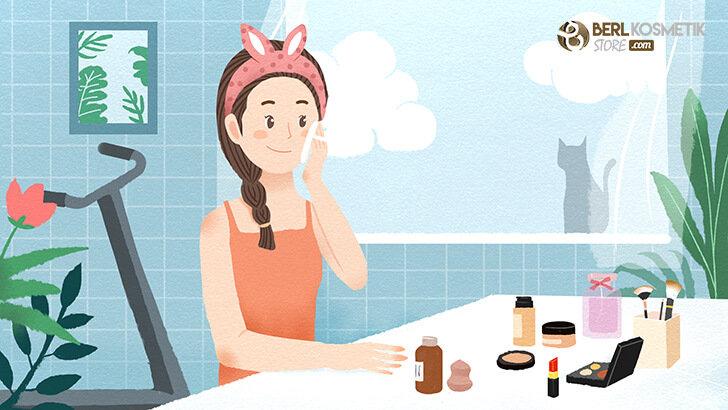 Bahaya Sering Memakai Make Up Setiap Hari