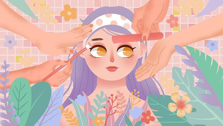 Cara Membuat Make Up Tahan Lama Meskipun Kulit Wajah Berminyak