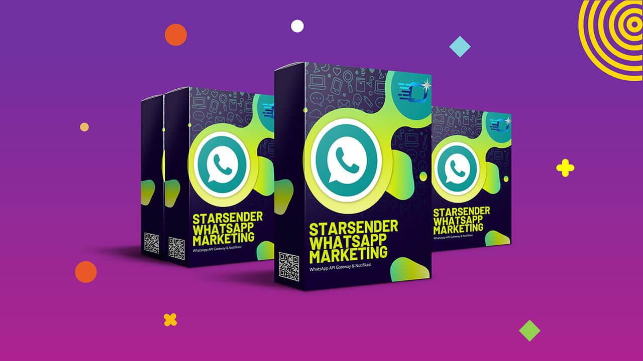 STARSENDER - WhatsApp API Gateway & Marketing