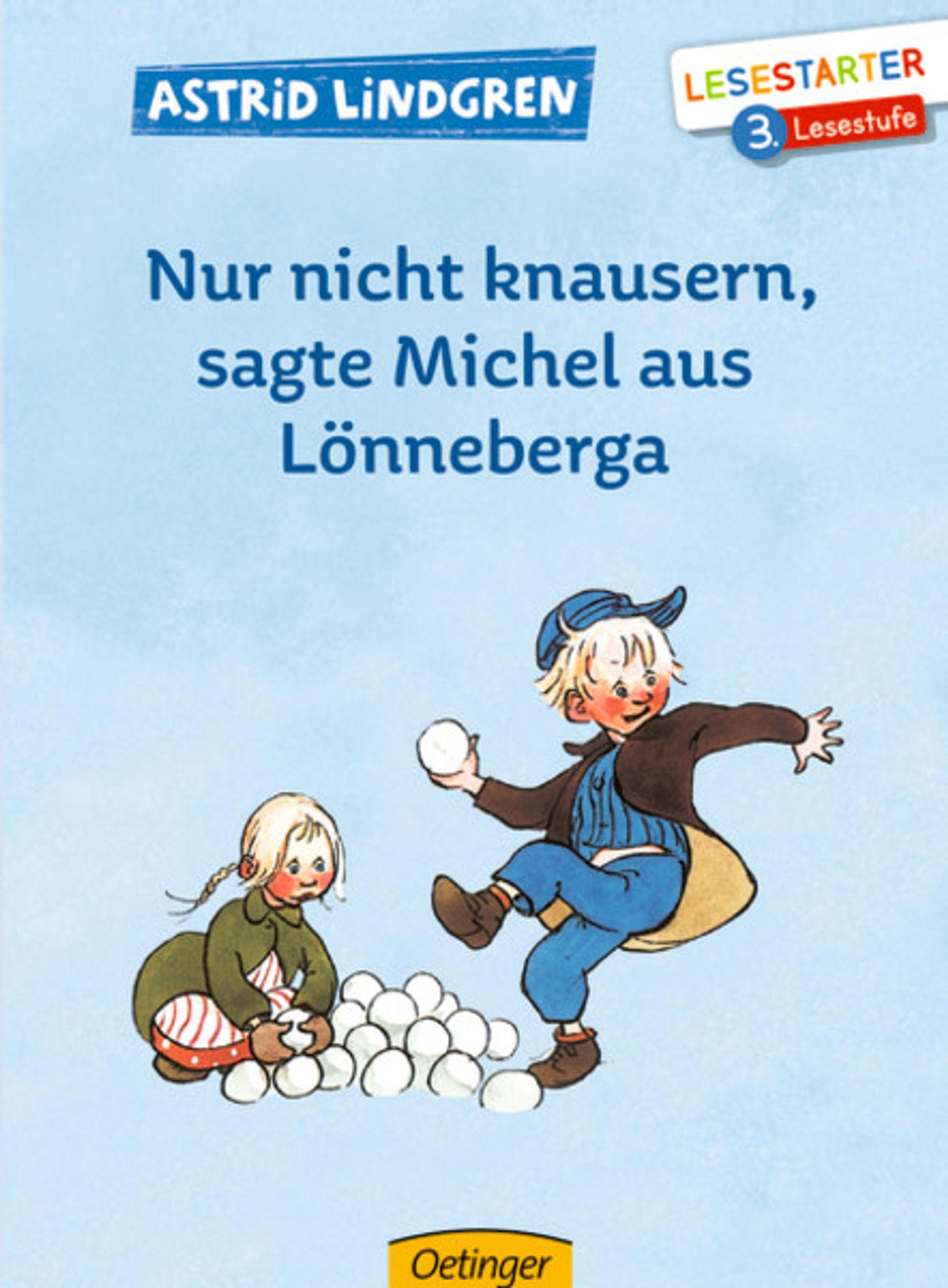 Cover Nur nicht knausern sagte Michel aus Lönneberga