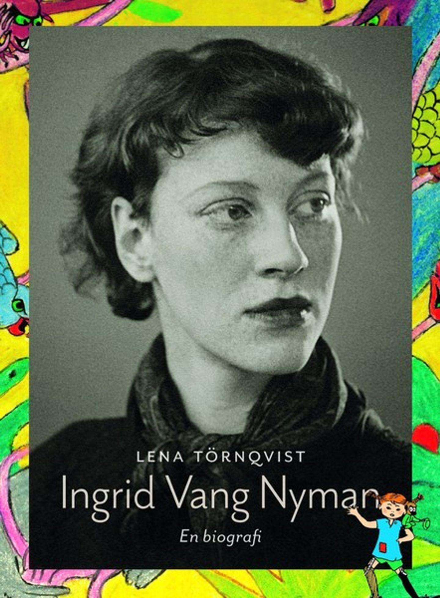 Omslag Ingrid Vang Nyman En biografi