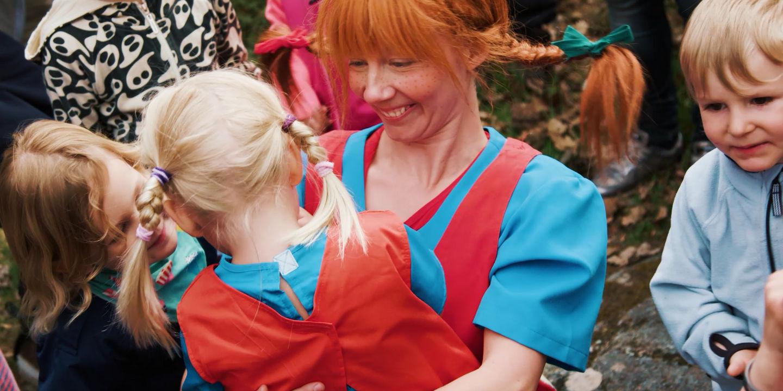 Pippi på Astrid Lindgrens värld på Skansen