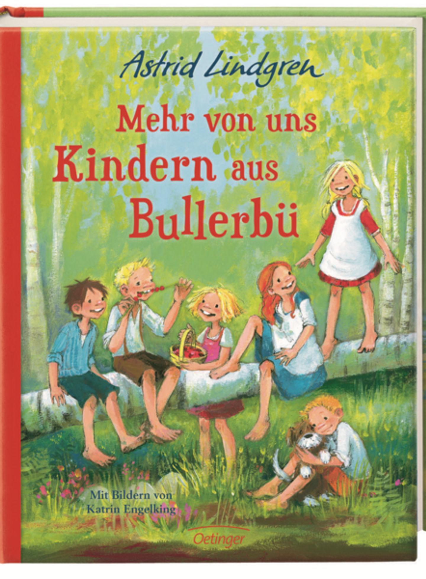 Omslag Mehr von uns Kindern aus Bullerbü