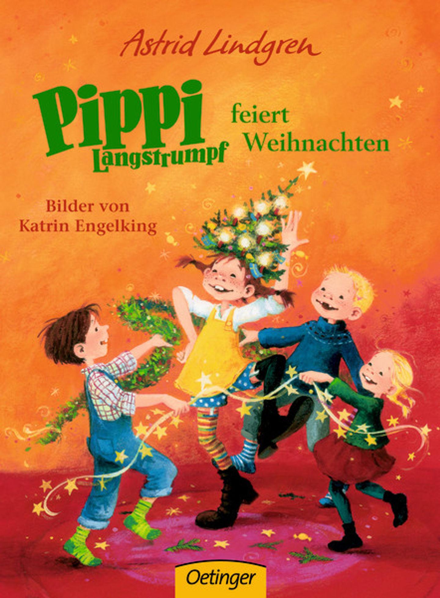 Cover Pippi feiert Weihnachten
