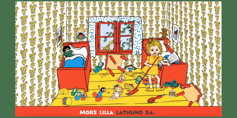 Pippi sing-along, Mors lilla lathund