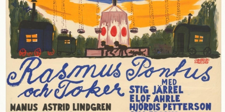 Film poster Rasmus, Pontus och Toker