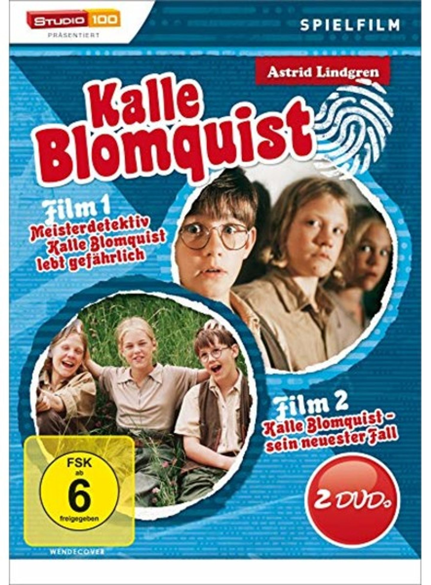 Film poster Kalle Blomquist
