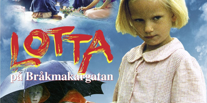 Film poster Lotta på Bråkmakargatan