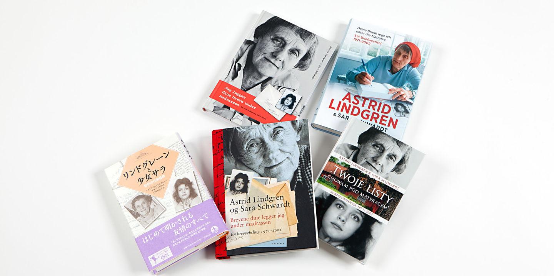 Olika utgåvor av en bok