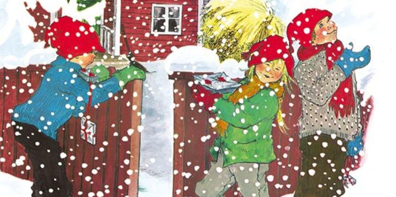Omslag Jul i Bullerbyn