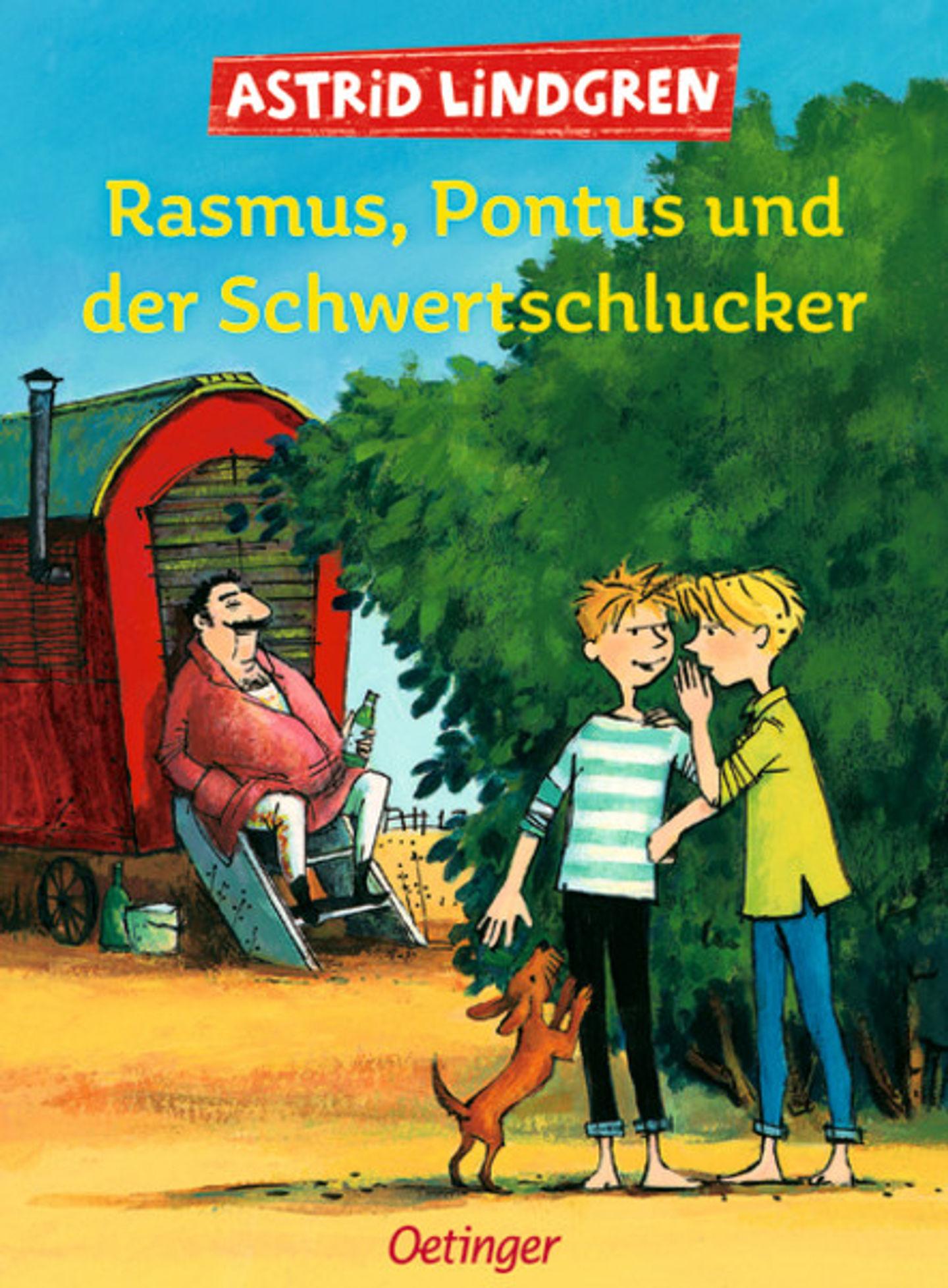 Cover Rasmus, Pontus und der Schwertschlucker