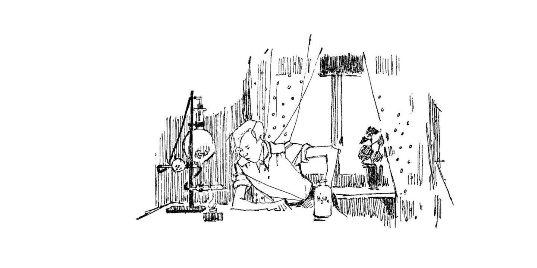 Mästerdetektiven Blomkvist med vätgasapparat