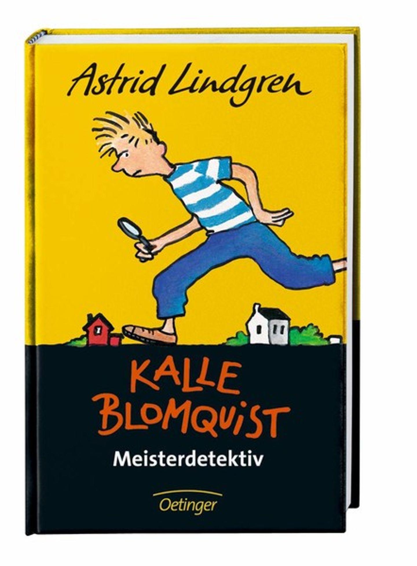 Omslag Kalle Blomquist Meisterdetektiv