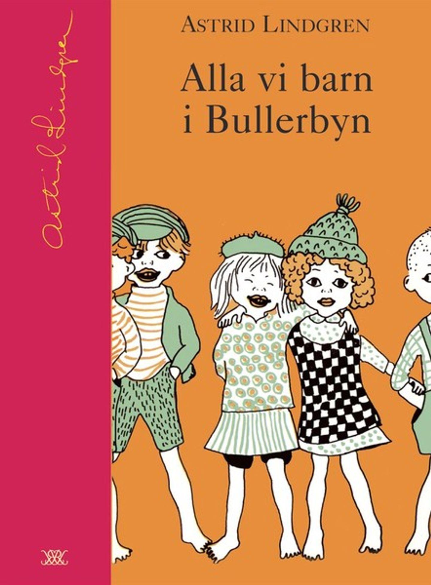 Omslag Alla vi barn i Bullerbyn