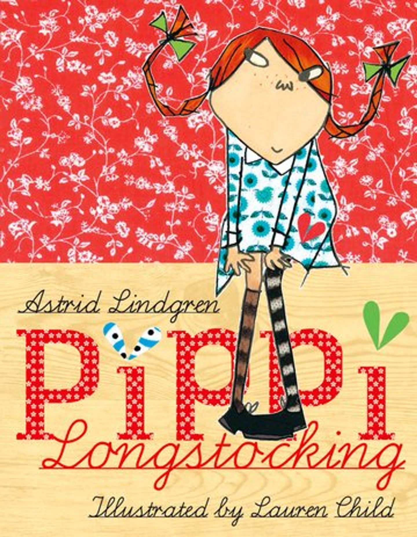 Omslag Pippi Longstocking Lauren Child