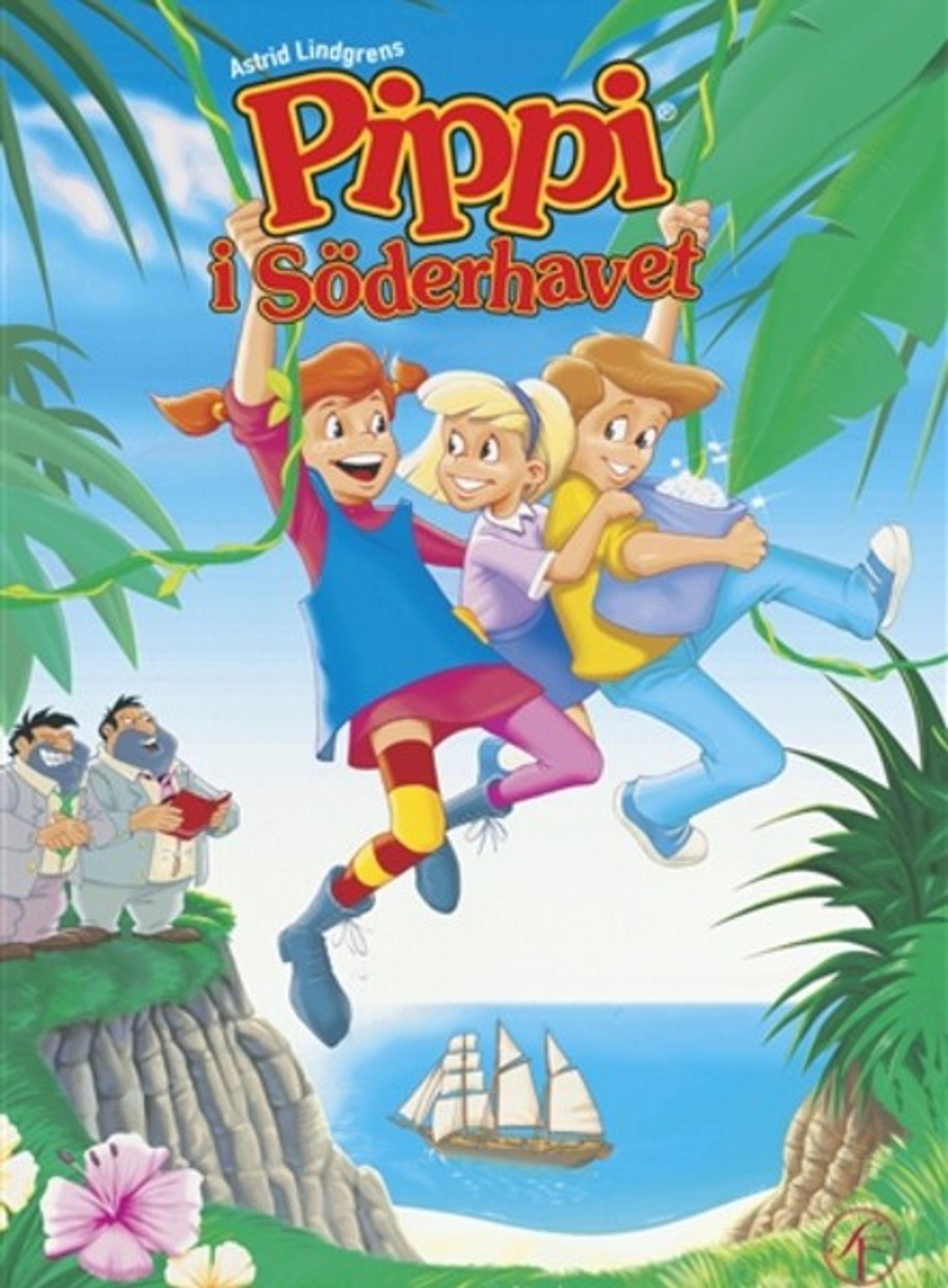Film poster Pippi i Söderhavet