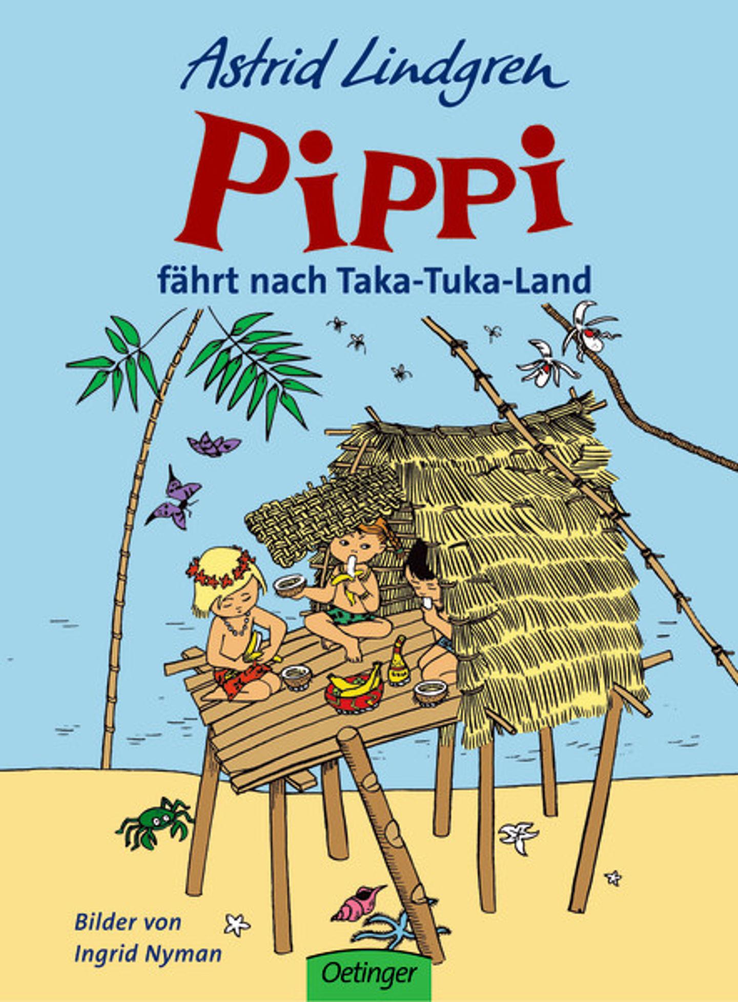 Cover Pippi in Taka-Tuka Land