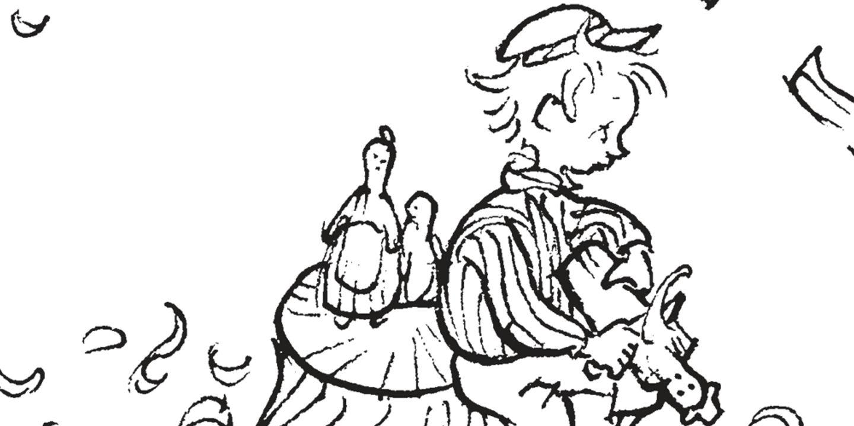 Färglägg Emil i snickerboa