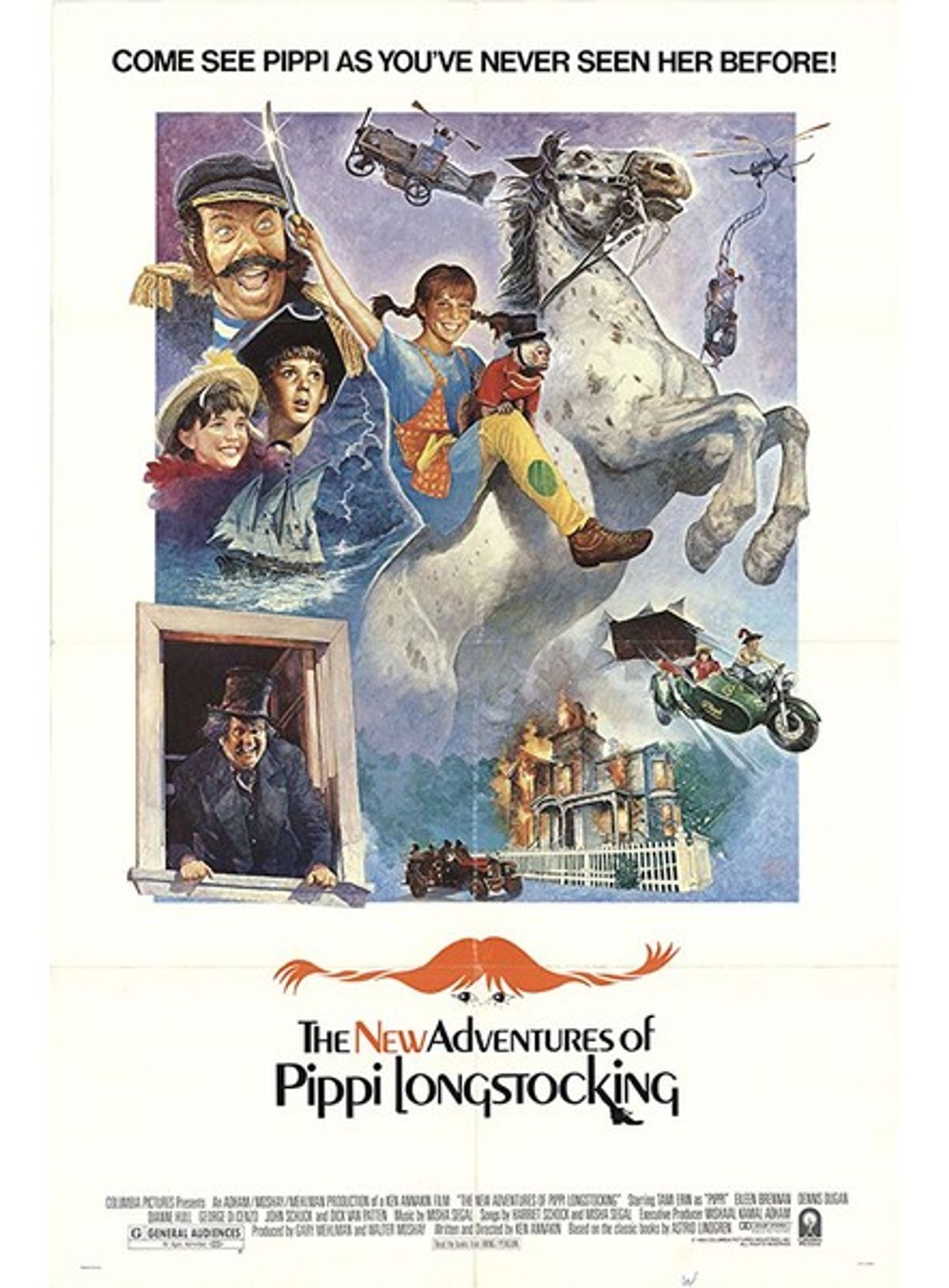 Film poster The New Adventures of Pippi Longstocking