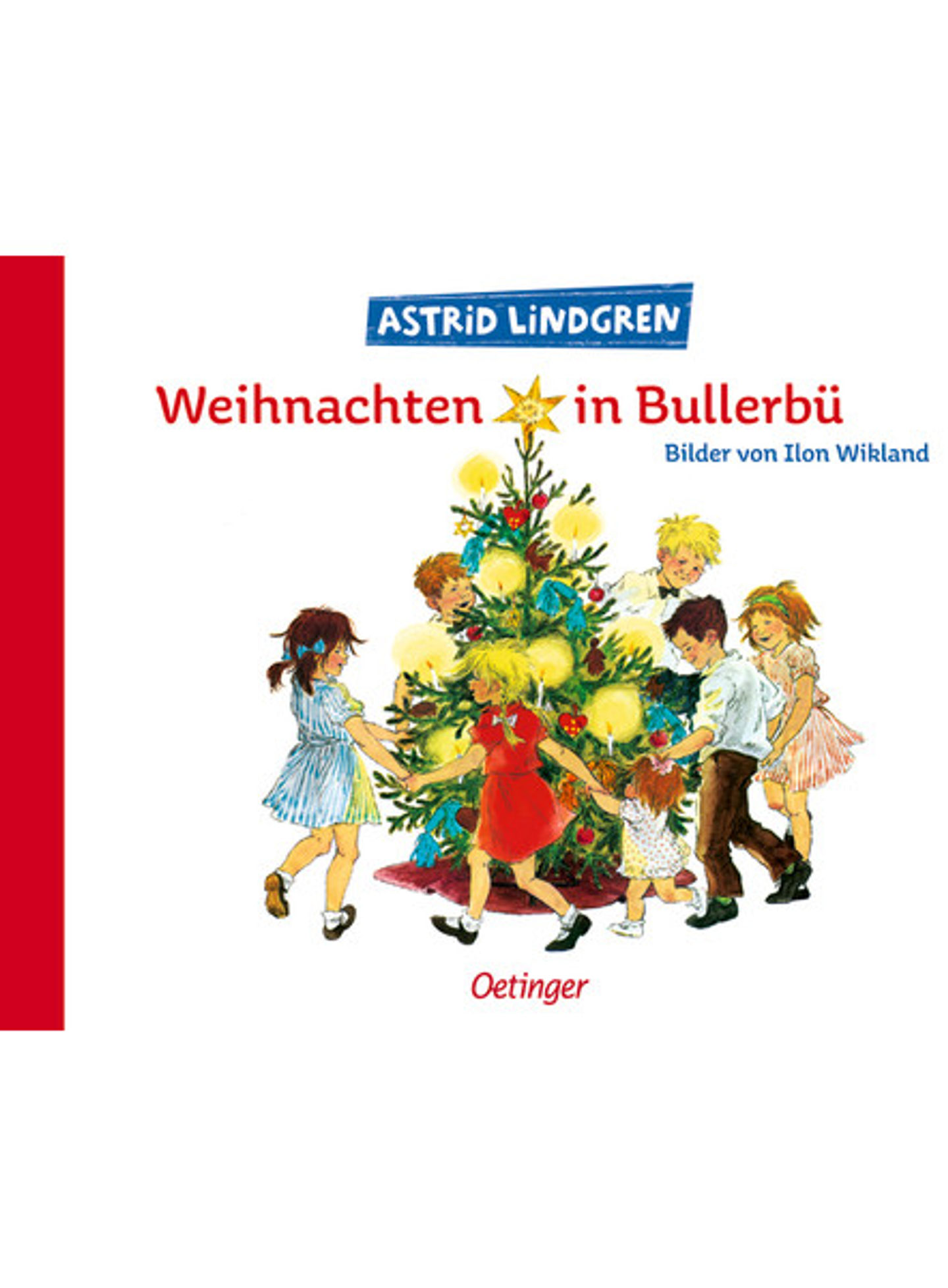 Cover Weihnachten in Bullerbü