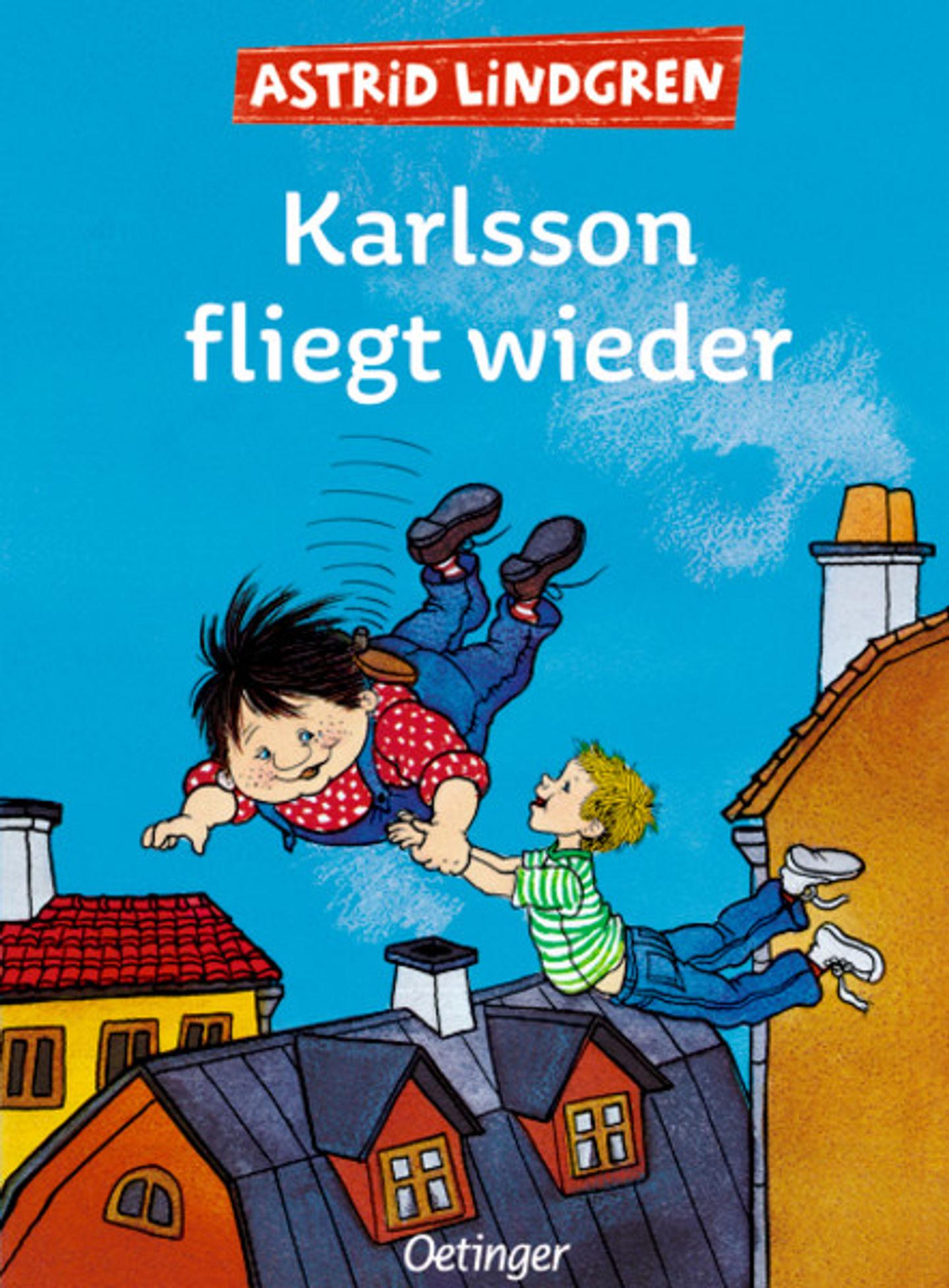 Cover Karlsson fliegt wieder