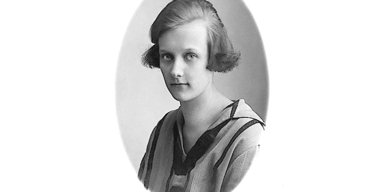 Astrid kortklippt 1920-tal
