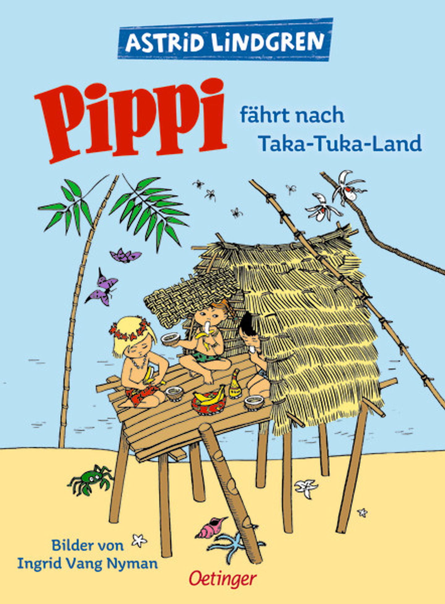Cover Pippi fährt nach Taka-Tuka Land