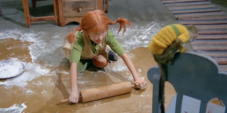 Pippi bakar pepparkakor