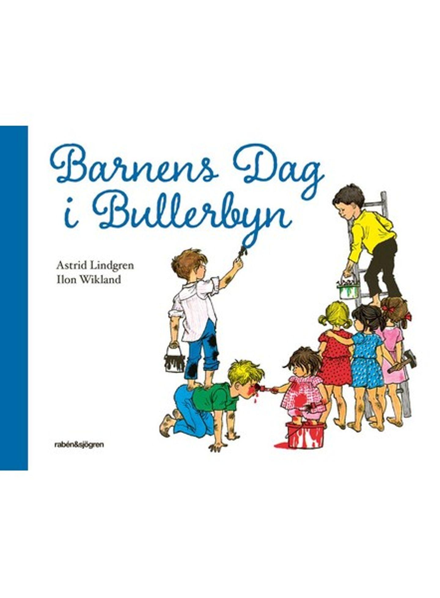 Omslag Barnens Dag i Bullerbyn