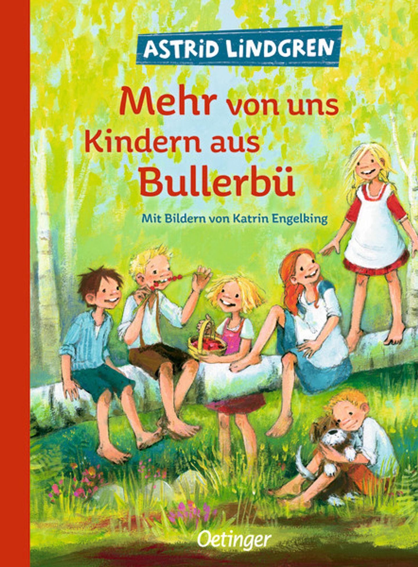 Cover Mehr von uns Kindern aus Bullerbü