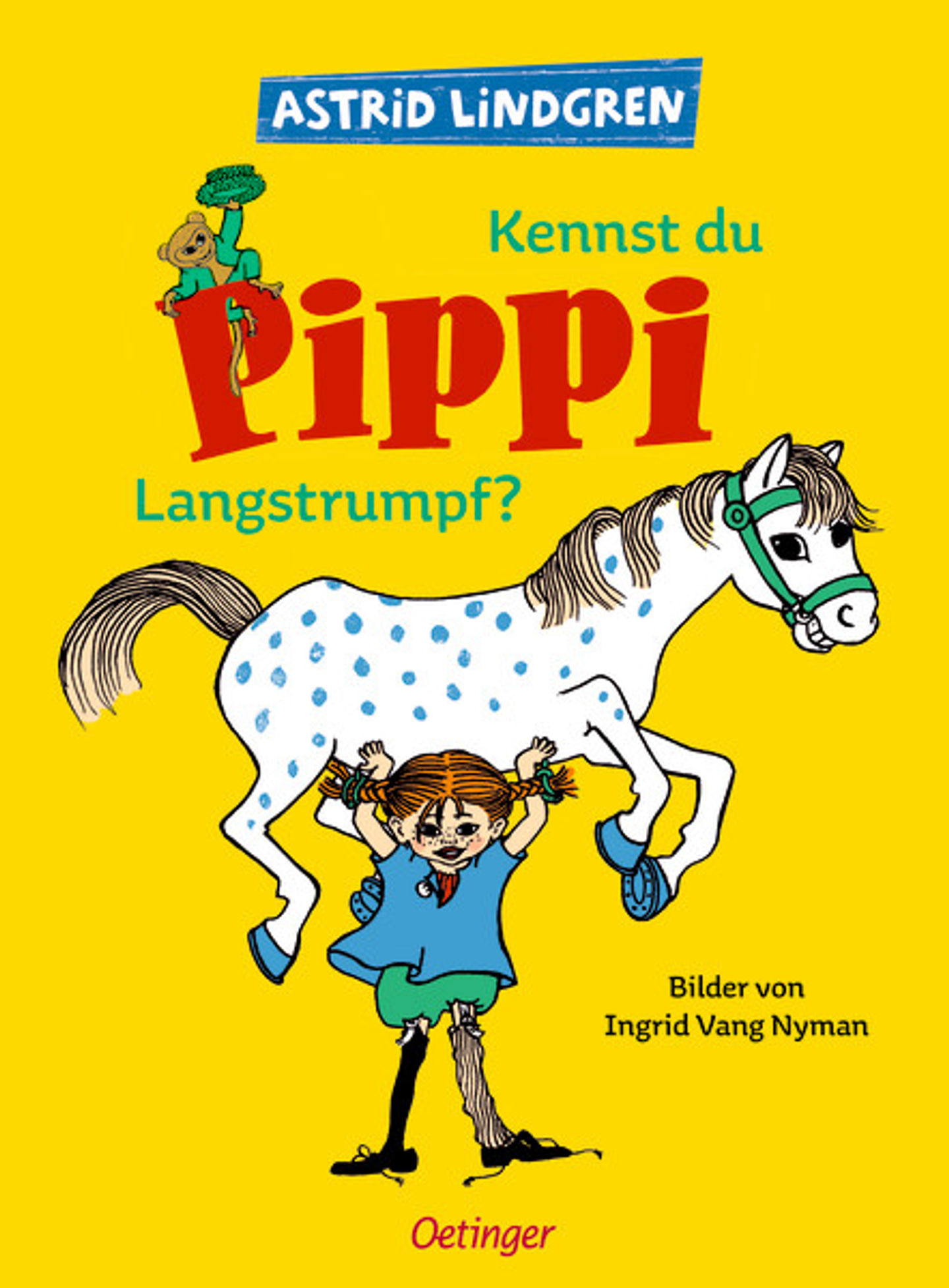 Cover Kennst du Pippi Langstrumpf?