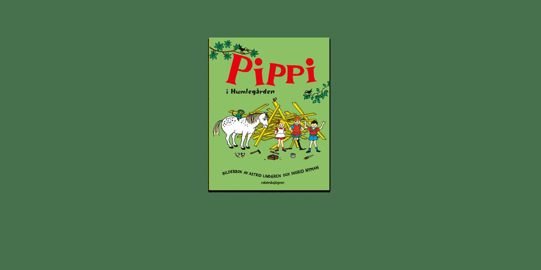 Omslag Pippi i Humlegården
