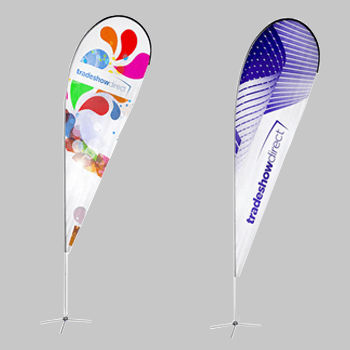 Tear Drop Banners