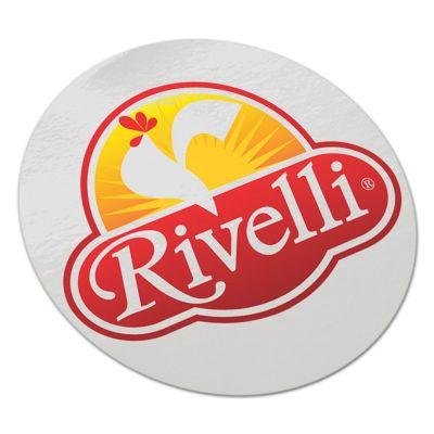 100114 Round Vinyl Logo Stickers - 60mm