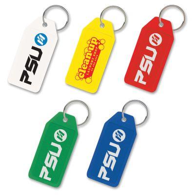 100245 Budget Rigid Logo Plastic Keytags