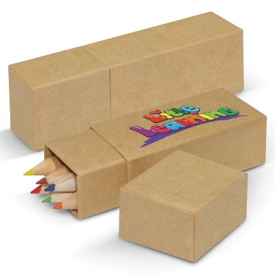 100471 Little Learning Printed Coloured Pencil Packs
