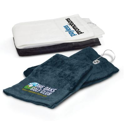 100687 Double Folded Team Golf Towels