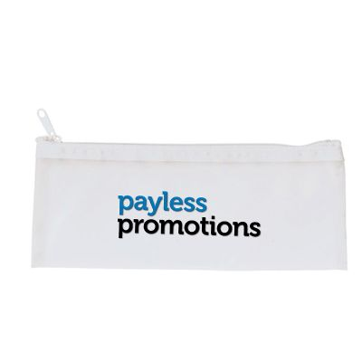 104759 Frosted Printed Pencil Cases