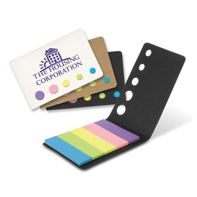 107076 Magic Personalised Post It Note & Flag Sets
