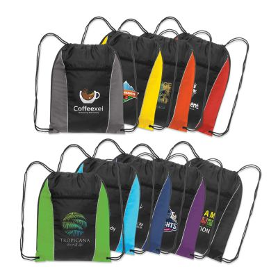 107673 Ranger Promotional Backpacks With Drawstrings