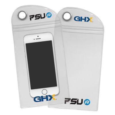 107752 Plastic Conductive Custom Phone Pouches